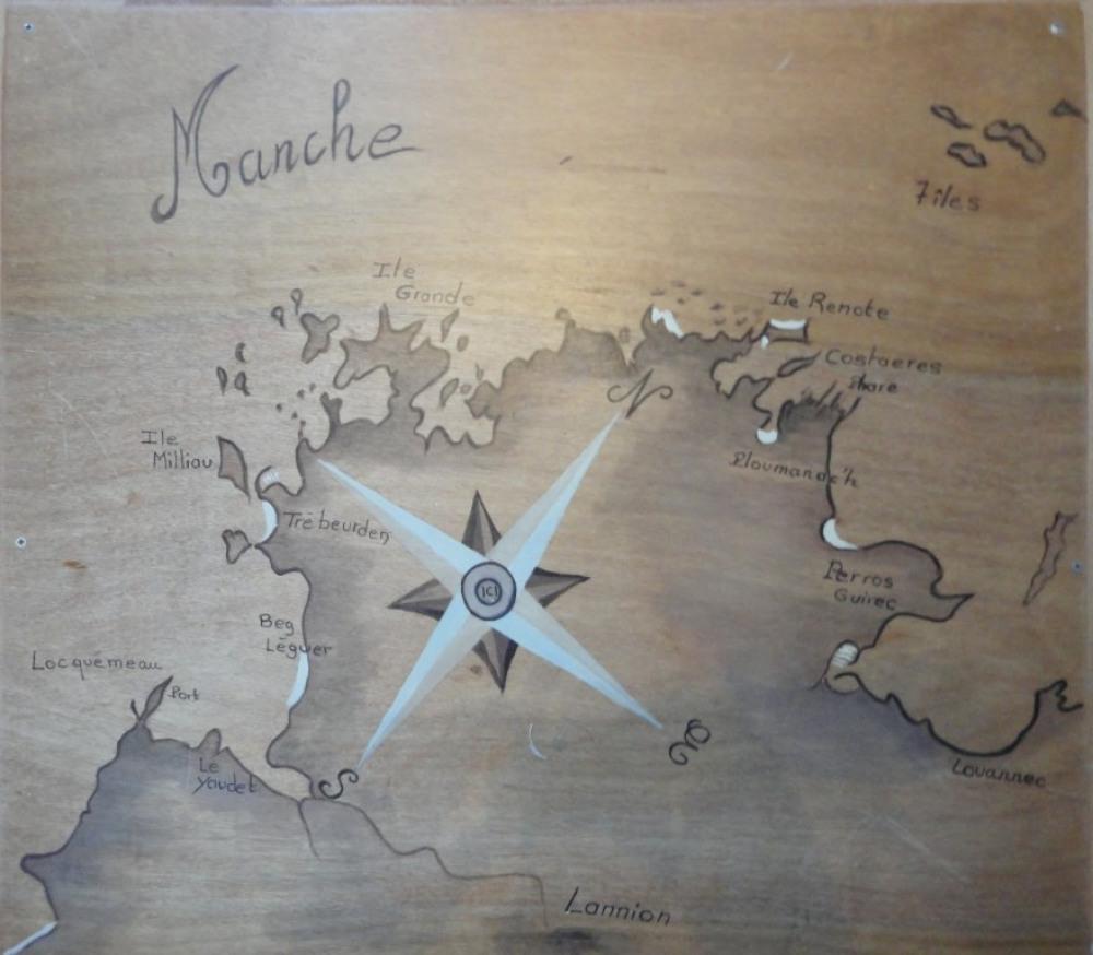 carte et position de la maison