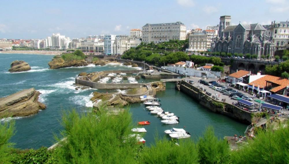 Biarritz le Port des Pêcheurs