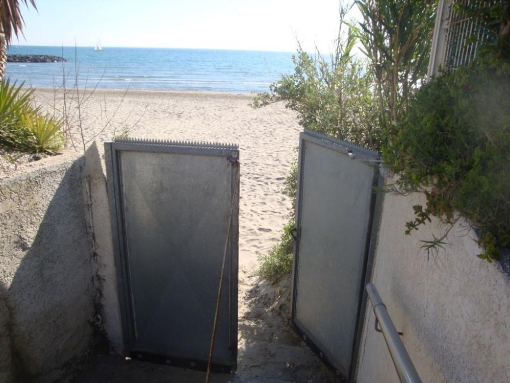 ...sur la plage de Rochelongue...