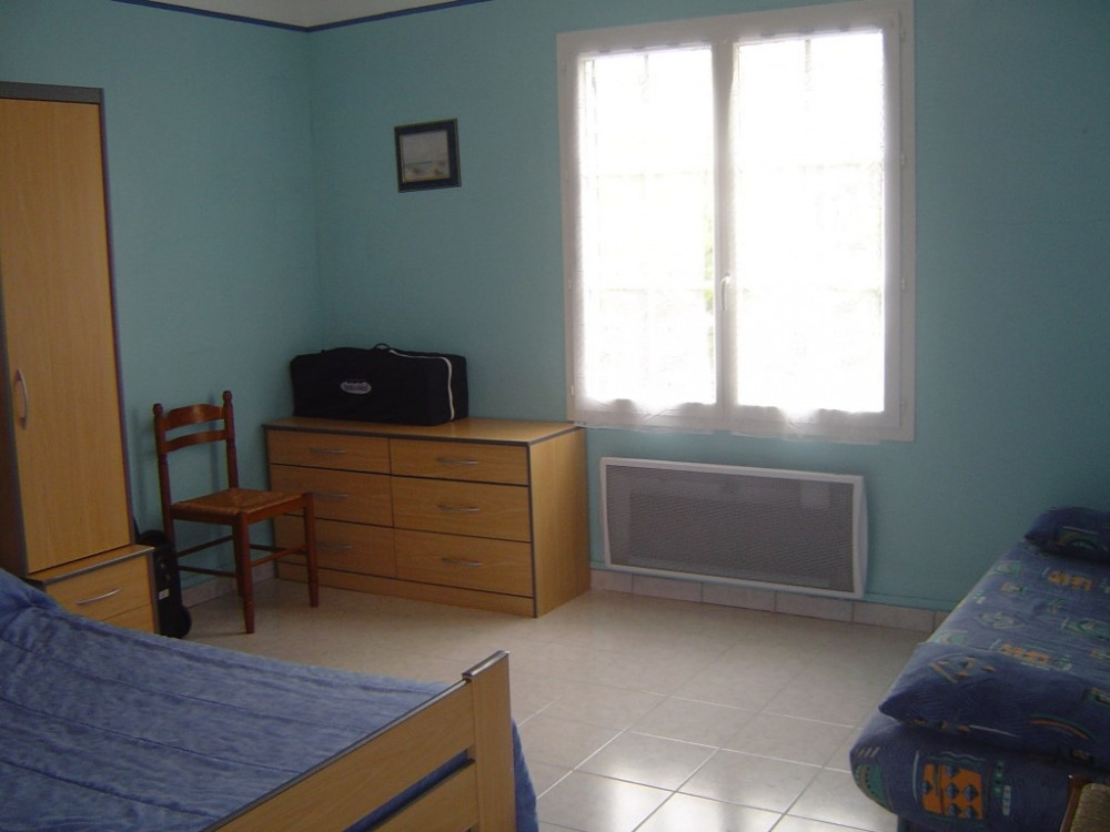 Grande chambre bleue Maison