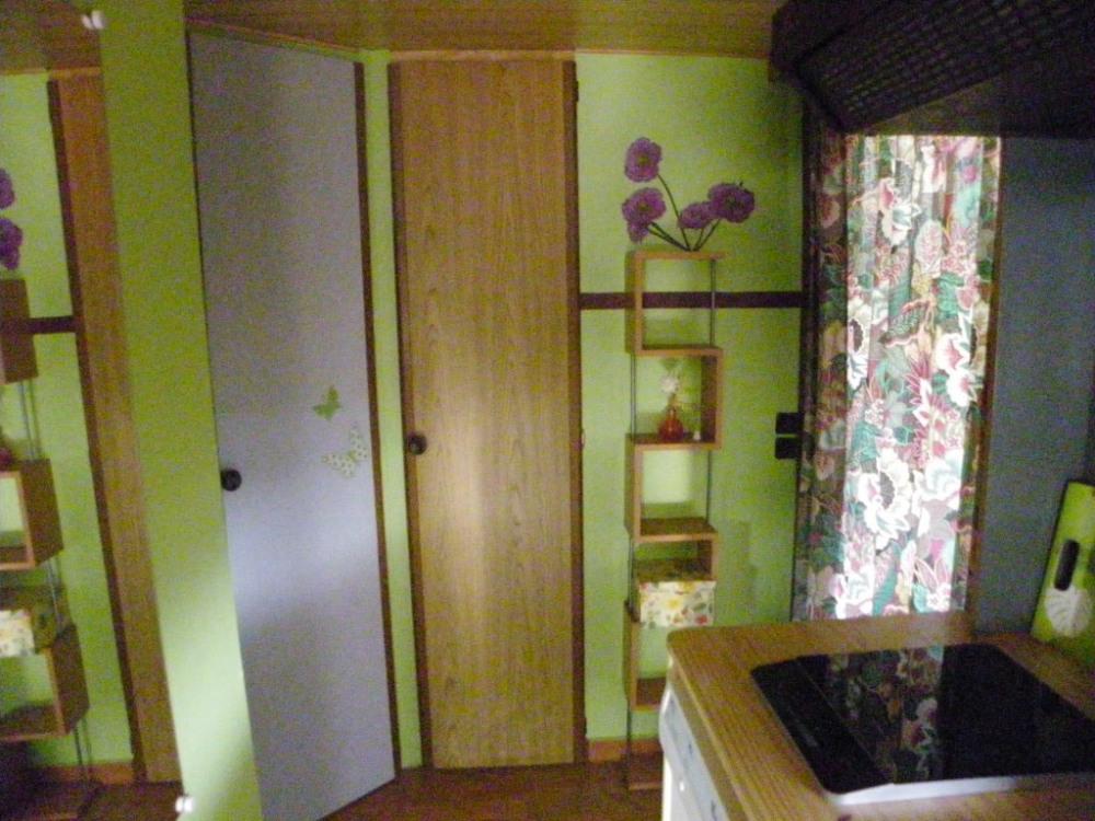 couloir donnant sur les chambres et salle de bain