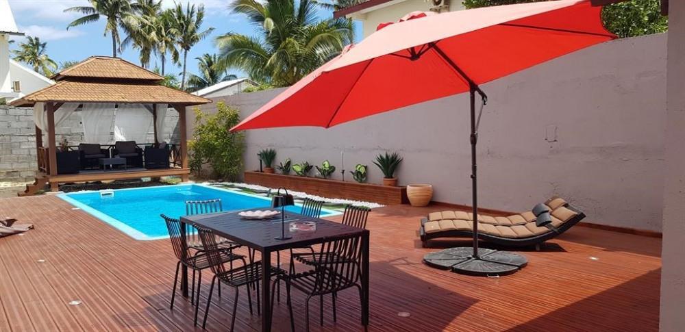 Villa pour 8 pers. avec piscine privée, Saint-Paul