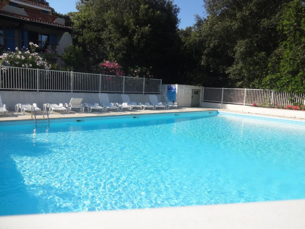 piscine sécurisée de la copropriétée