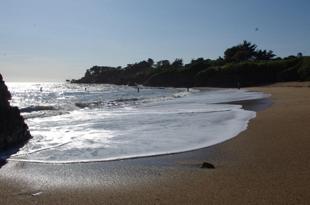 La plage de la Joselière est à 700 m de la maison!