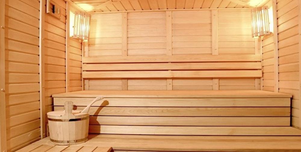 Sauna gratuit dans la résidence