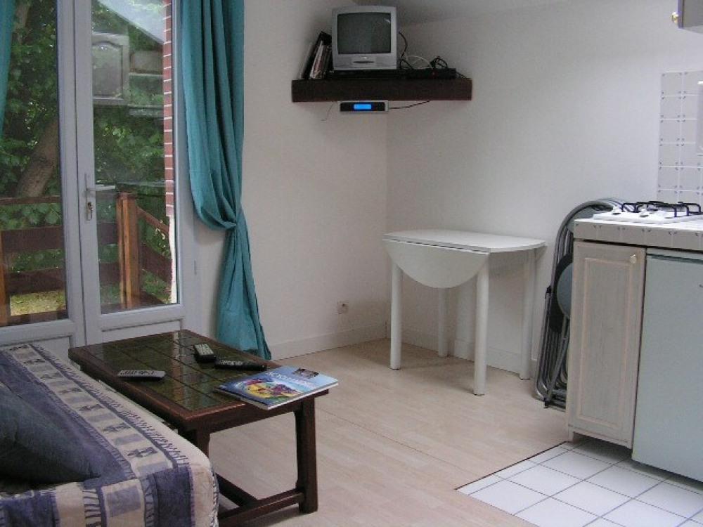 la pièce a vivre du petit appartement