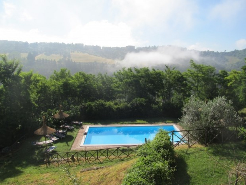 Ombrie: Appartements vue panoramique, piscine -Perouse - Perugia