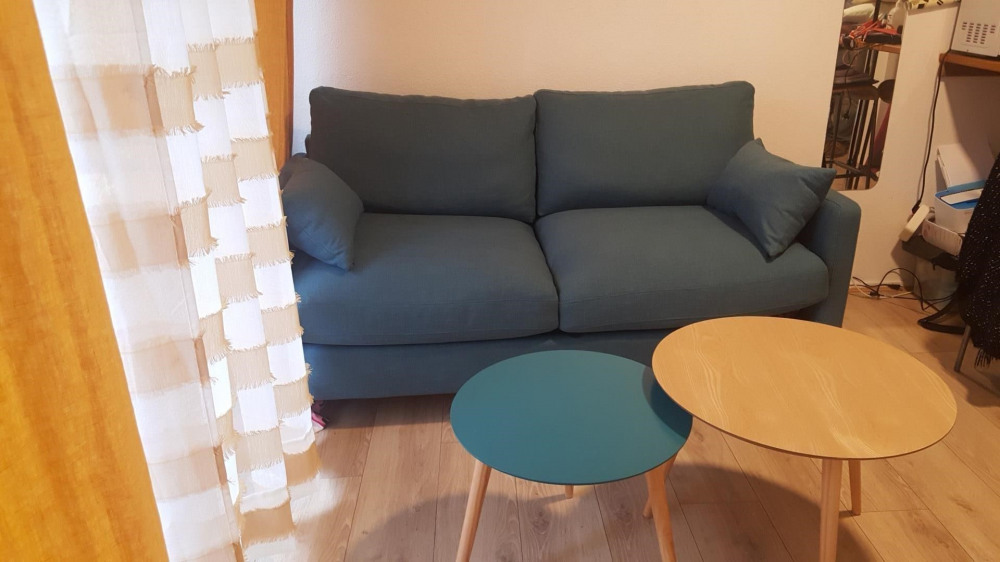 salon: canapé lit neuf
