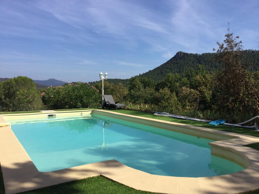 Gîte climatisé tout confort avec superbe vue sur le Mont Vinaigre