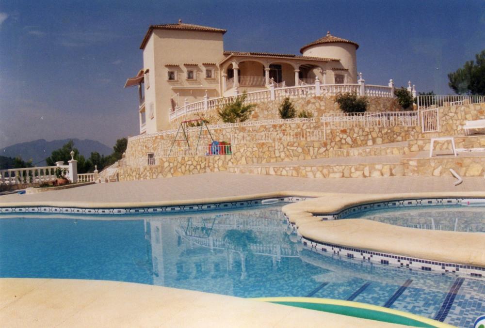 calfornia villa + piscine