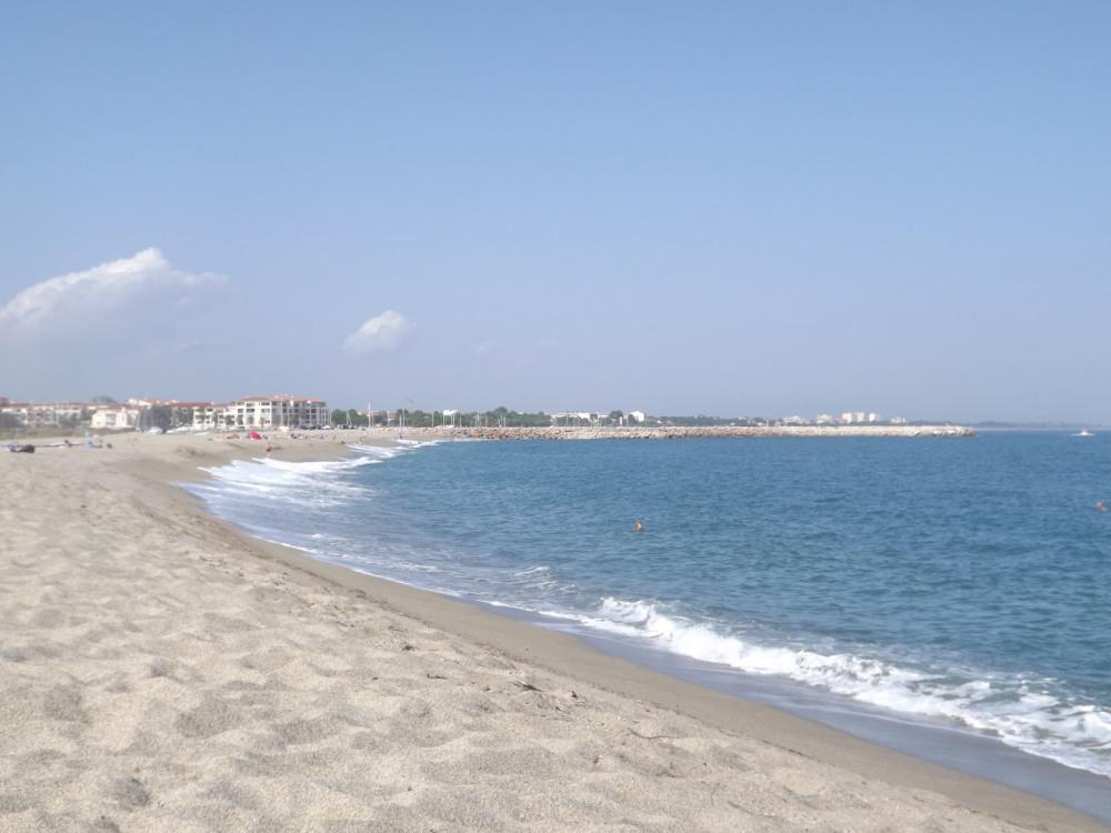 La plage du Racou