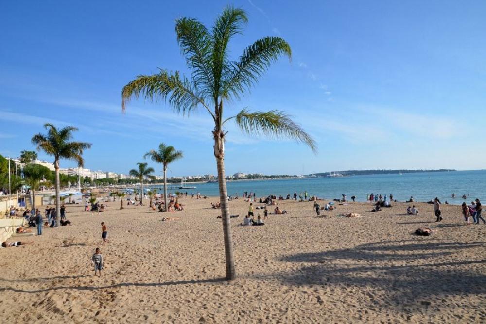 La plage en Hiver . 3 min à pied de l'appartement