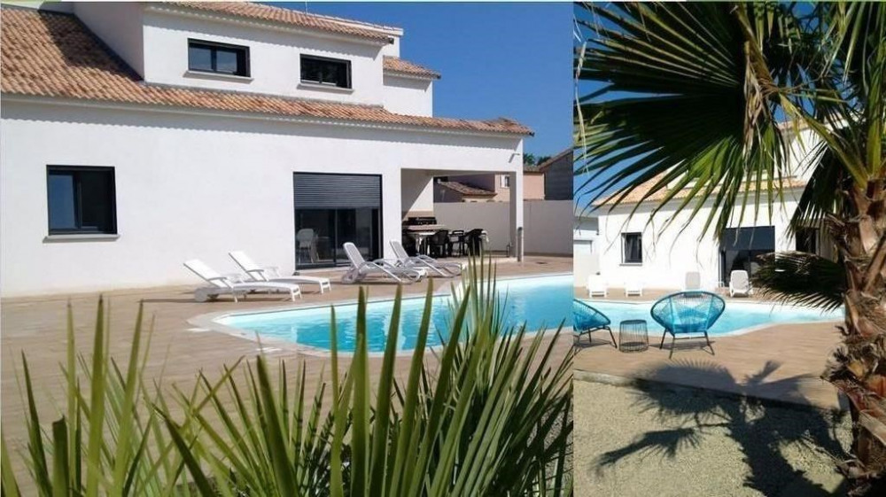 villa casaleoni pour 8-10 personnes avec sa grande piscine privee chauffée
