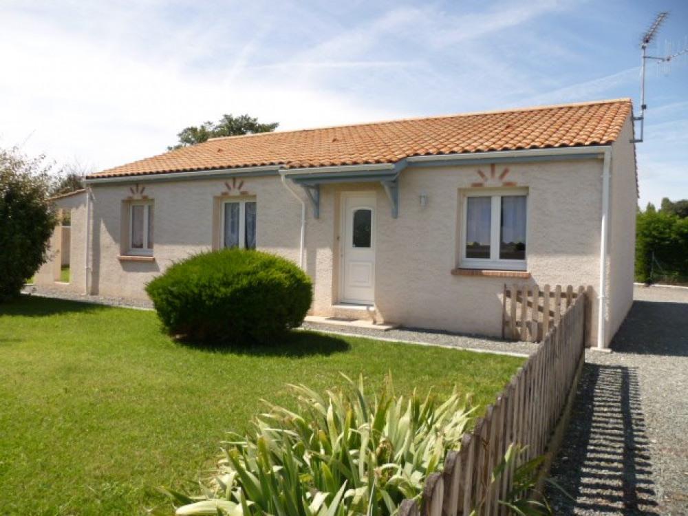 Maison de vacances à proximité de Fouras, proche de la réserve des marais d'Yves