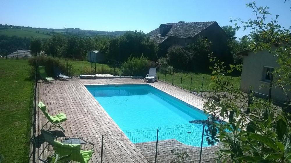Holiday rentals La Salvetat-Peyralès - House - 6 persons - BBQ - Photo N° 1