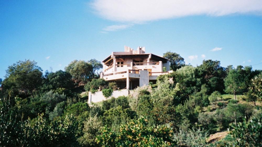 La villa face à la mer