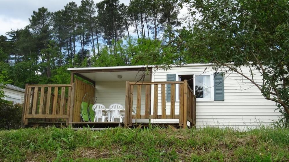 Mobil Home pour 4 pers. avec piscine, Aubenas