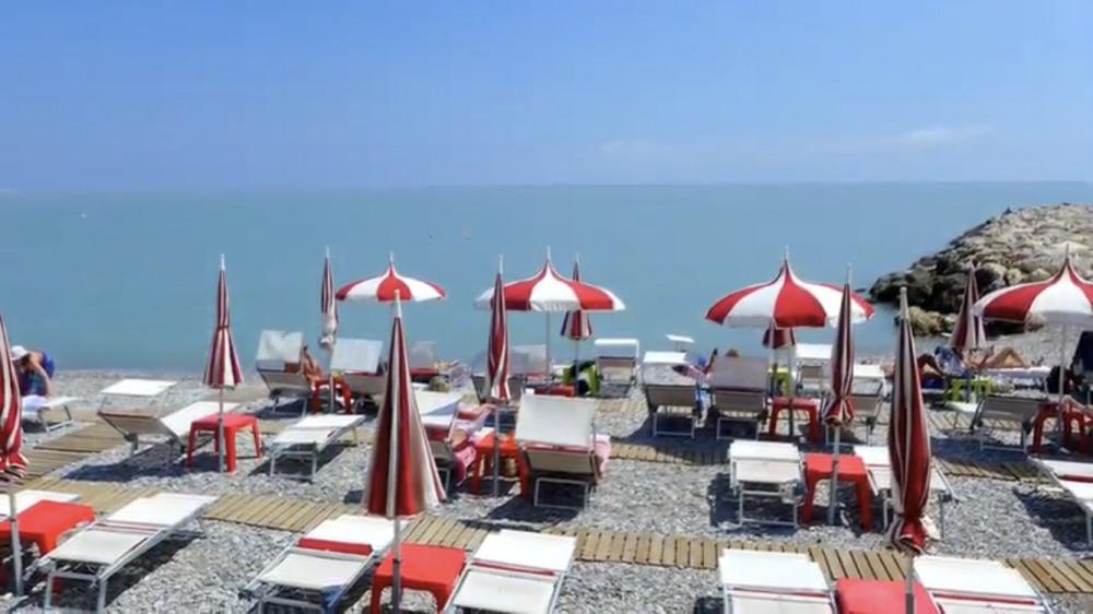 Location vacances Cagnes-sur-Mer -  Appartement - 4 personnes - Chaise longue - Photo N° 1