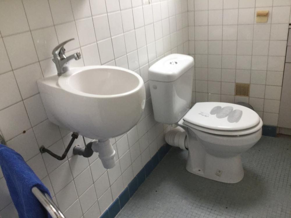 salle d'eau et WC à l'étage
