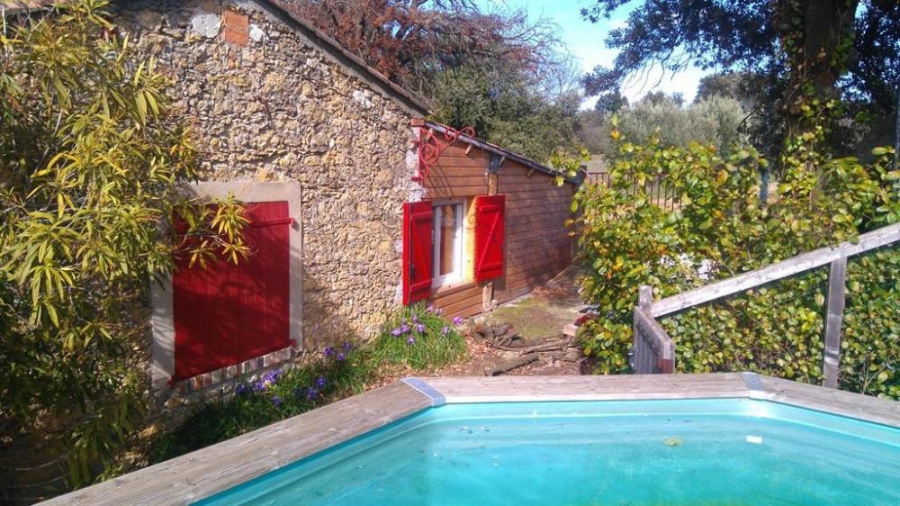 pour 12 pers. avec piscine privée, Bagard