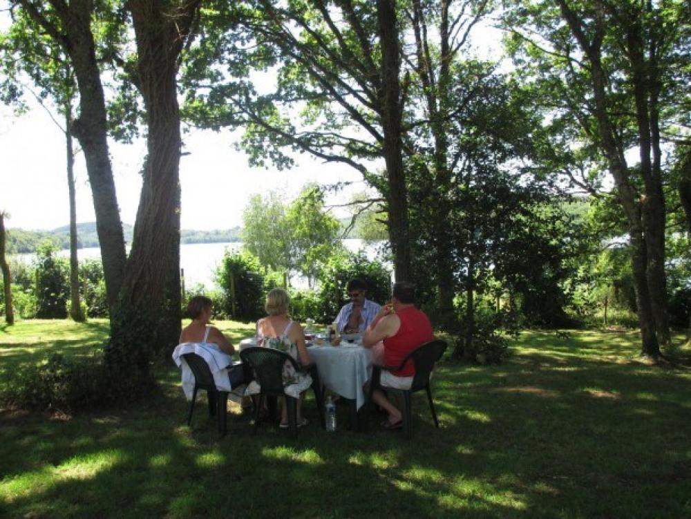 Camping de Fréaudour - Mobil-home Domino (4 adultes + 2 enfants)