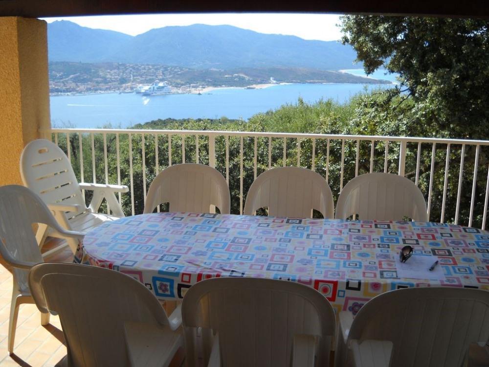 Terrasse aménagée avec vue panoramique