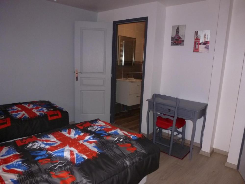 Chambre london 4 lits à l'étage