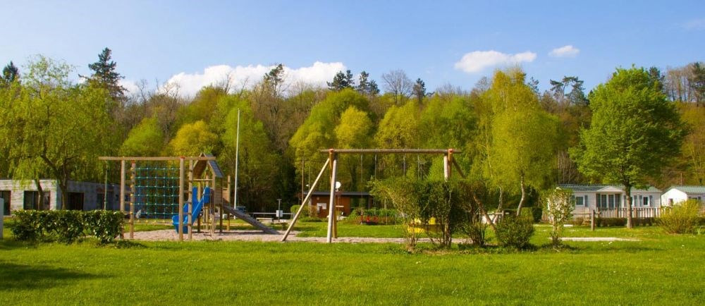 Camping de Villey le Sec, 90 emplacements, 5 locatifs