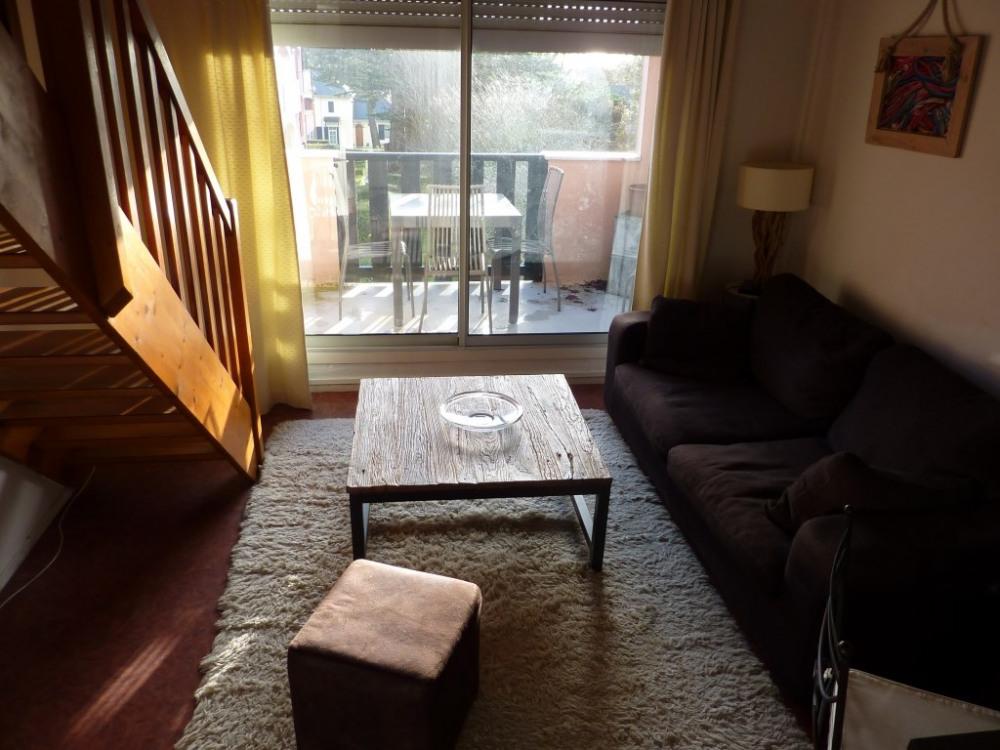 Bel appartement la baule en duplex