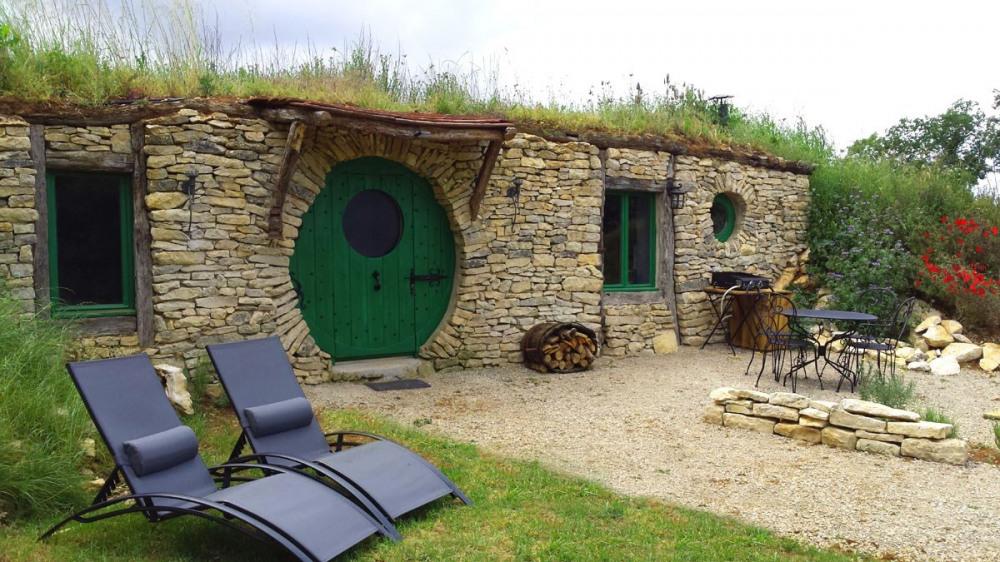 Gîtes La maison Hobbit - Lavaurette