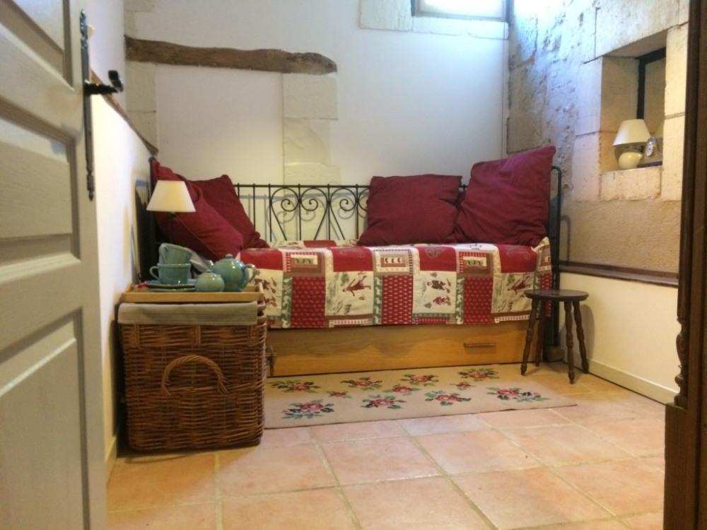La petite chambre avec lit simple/gigogne