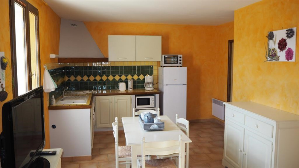 Holiday rentals Forcalquier - Apartment - 4 persons - Television - Photo N° 1