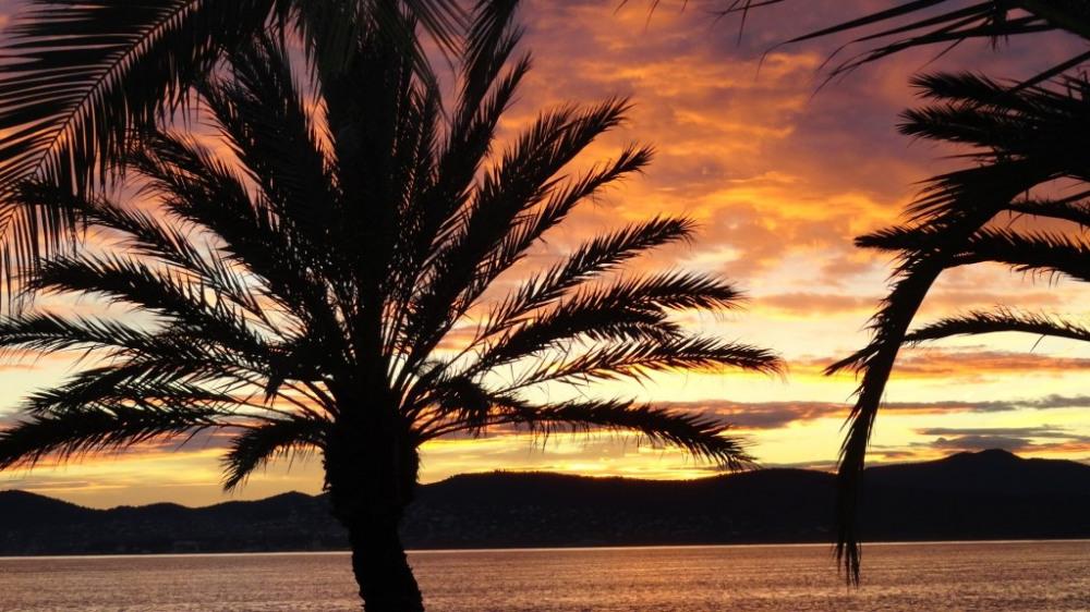 Coucher de soleil Saint-Raphaël