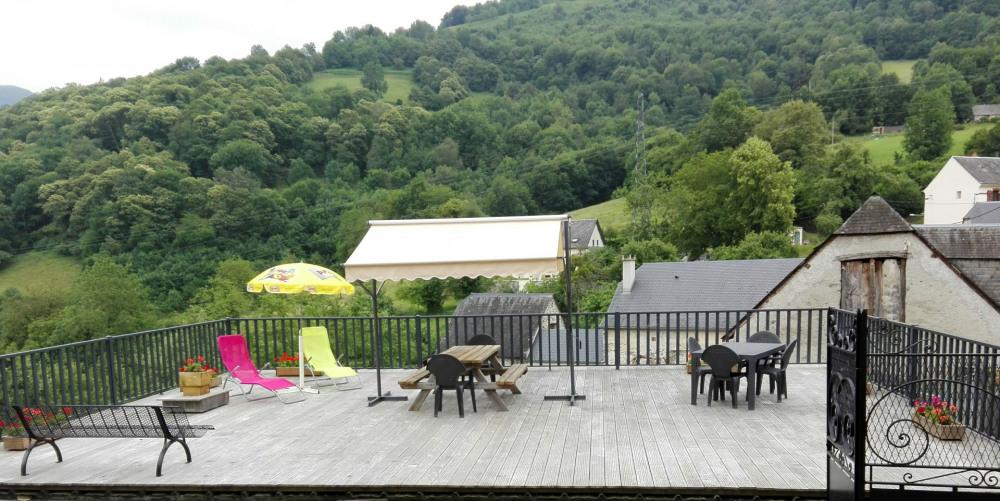 Terrasse  avec vue panoramique