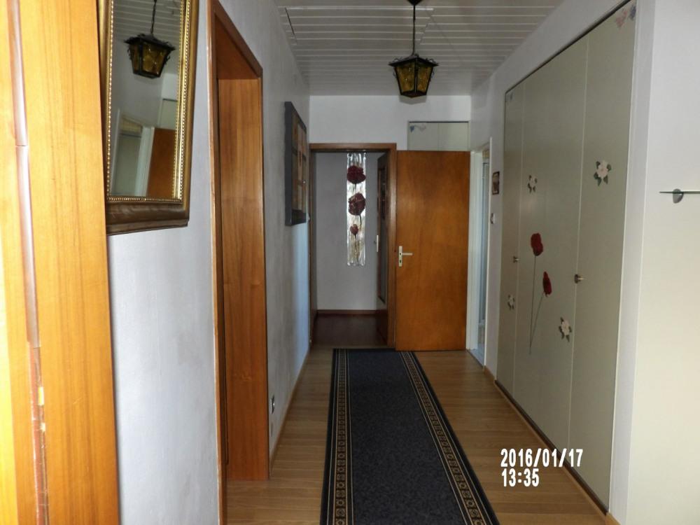 couloir menant vers les chambres