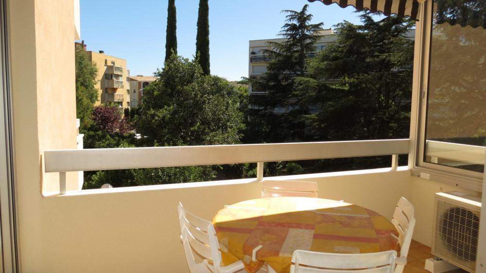 Location vacances Sainte-Maxime -  Appartement - 4 personnes - Salon de jardin - Photo N° 1