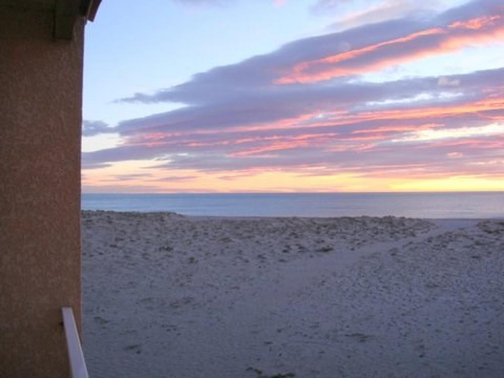 lever de soleil depuis le balcon