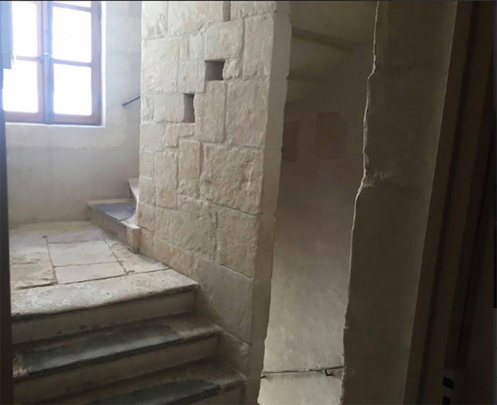 Cage d'escalier du 14ième sème siècle