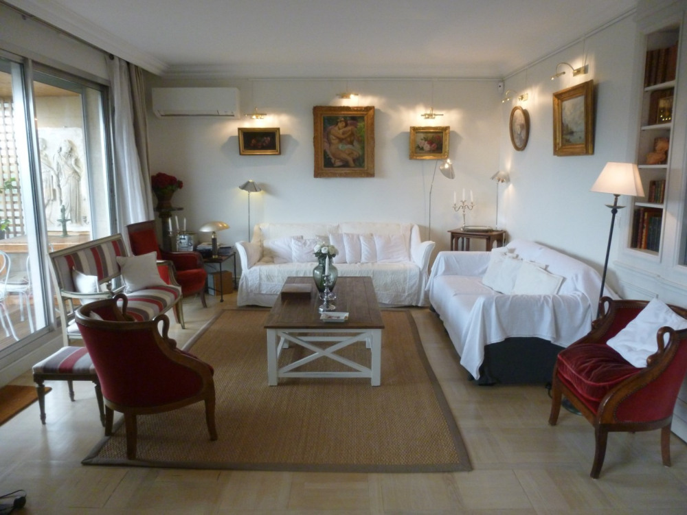 Penthouse exceptionnel 130 m2 - 2 suites avec balcons  et 100 m2 de terrasse plein soleil - Porte Maillot PARIS