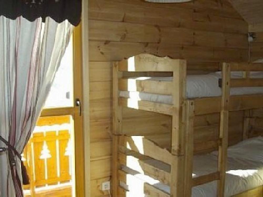 Chambre 4 - Etage - 2 lits superposés - Balcon