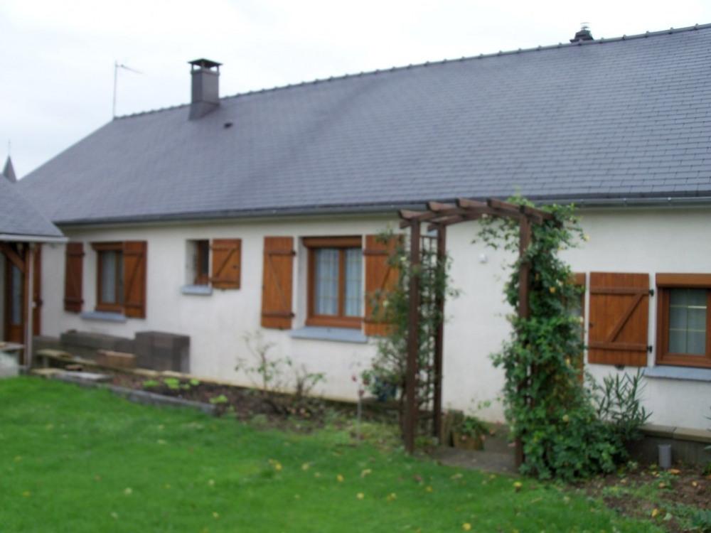 vue de l'ensemble de la maison