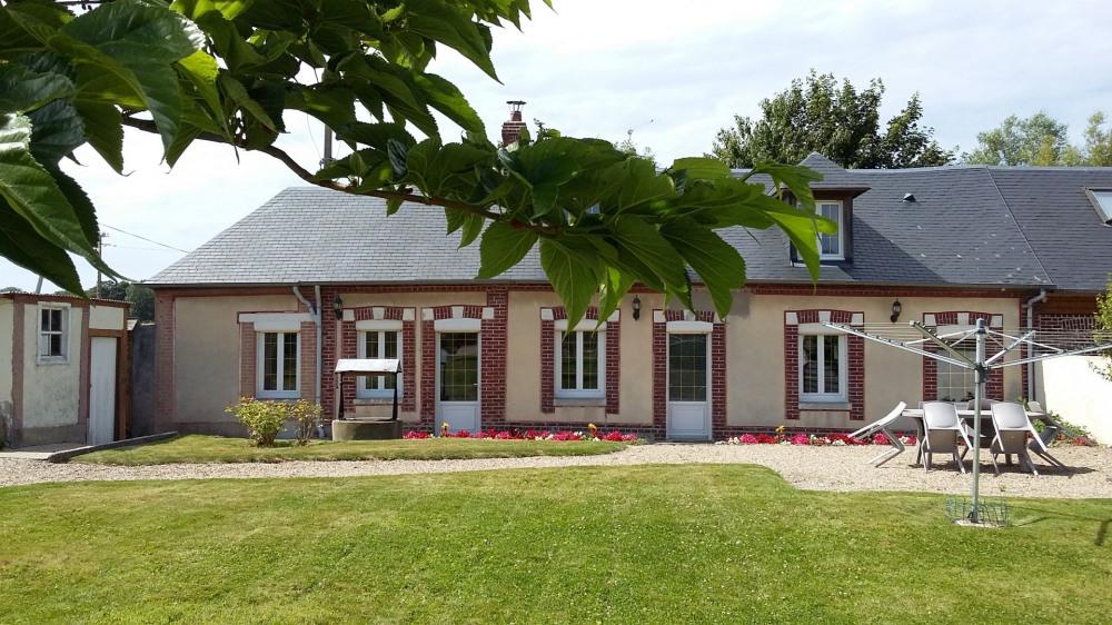 Holiday rentals Saint-Martin-aux-Buneaux - Cottage - 6 persons - BBQ - Photo N° 1