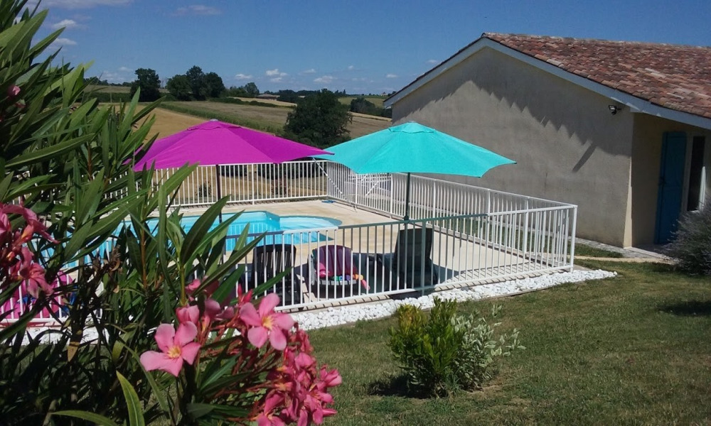 """Gite """"Le Garrabou""""  avec piscine privée à Molières - Molières"""
