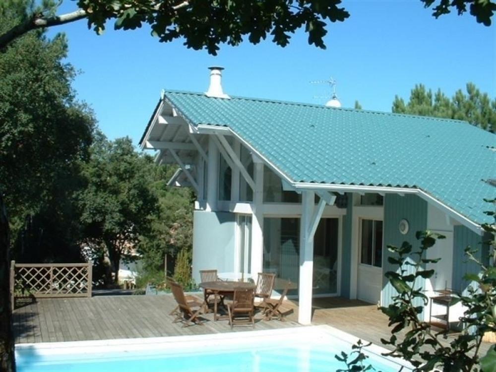 FR-1-327-10 - Villa d'architecte avec piscine , Domaine du Golf
