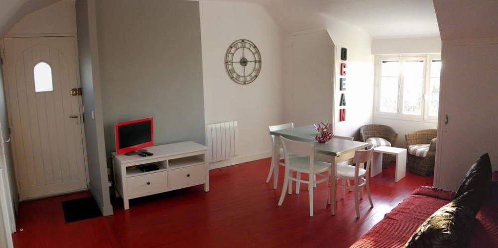 Holiday rentals Le Croisic - Apartment - 3 persons - Television - Photo N° 1