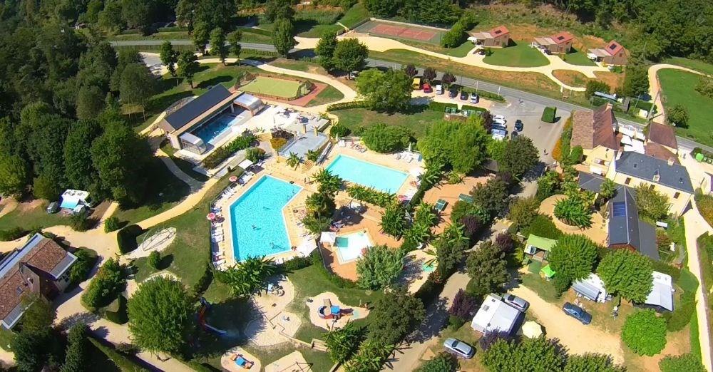 Camping Le Paradis, 149 emplacements, 31 locatifs