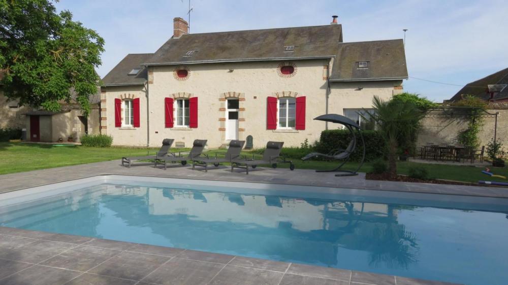 Location vacances Saint-Léonard-en-Beauce -  Gite - 8 personnes - Barbecue - Photo N° 1