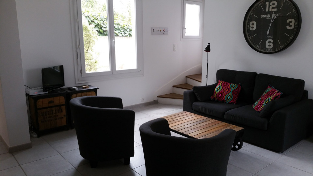 Salon + escalierétage