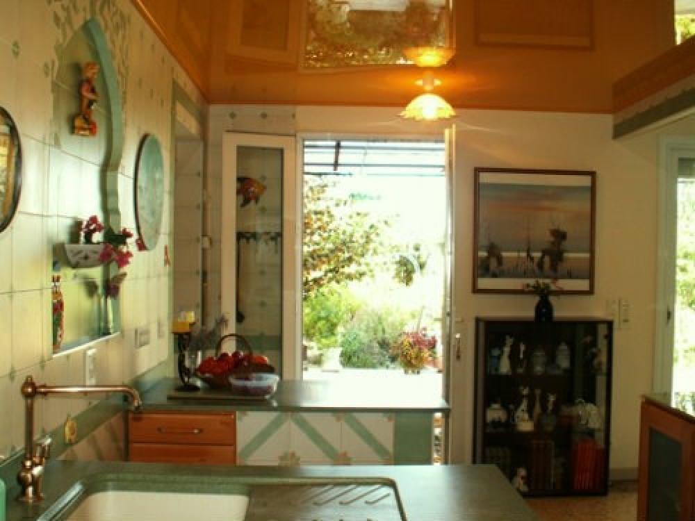 cuisine donnant sur terrasse