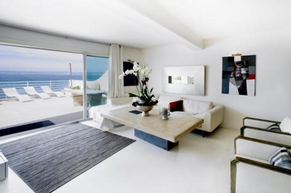 Appartement de 2 chambres à Marseille, avec magnifique vue sur la mer, terrasse et Wifi